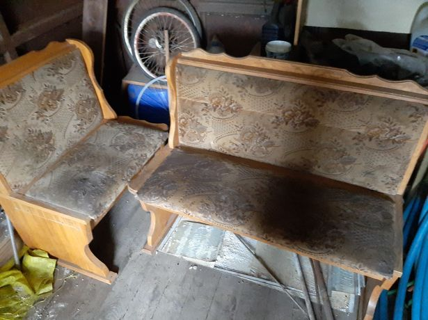Siedzisko dębowe do renowacji