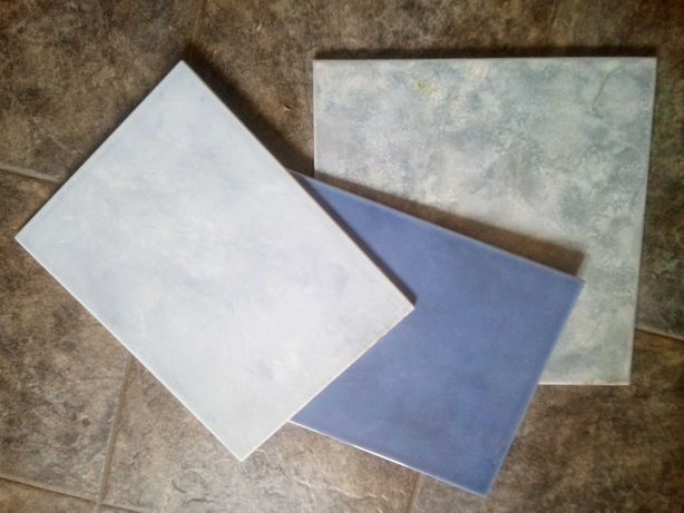 Płytki ceramiczne i kartonowe