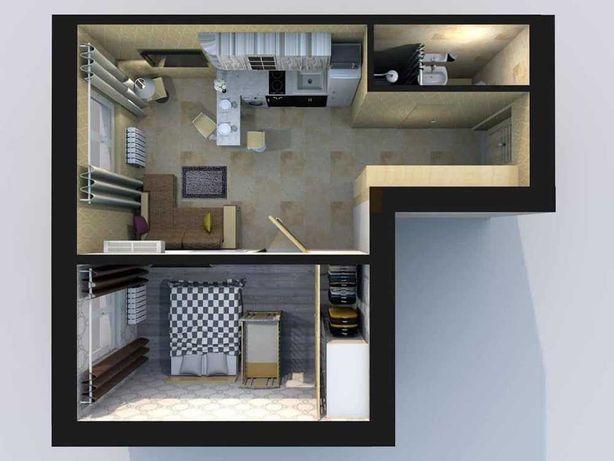 Эксклюзивный вариант, 1к квартира для вашей семьи!