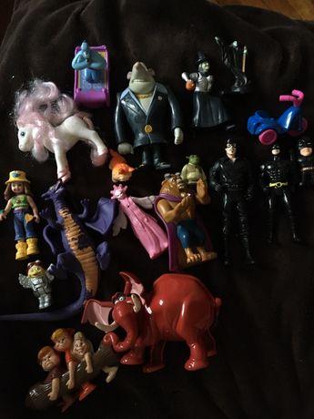 Игрушки Макдоналдс, для детей: Бэтмен, Смывайся, Алладин, минипуты