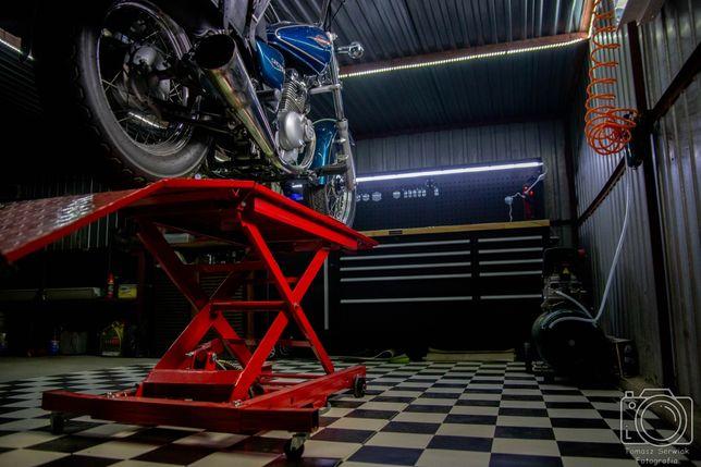 Professor's Garage, Mechanika, Naprawa Motocykli, Skuterów i Quadów