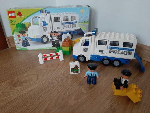 Klocki Lego Duplo Zestaw Ciężarówka Policyjna 5680