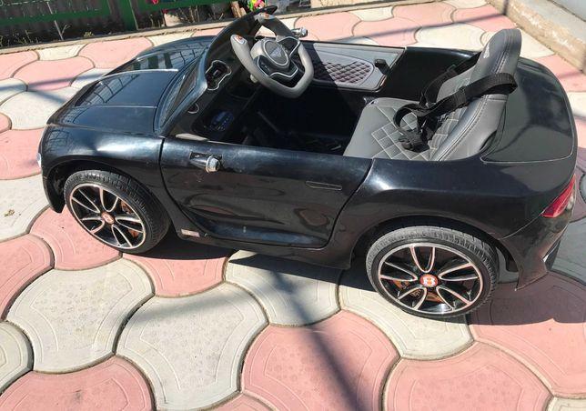 Детский электромобиль Bentley, черный