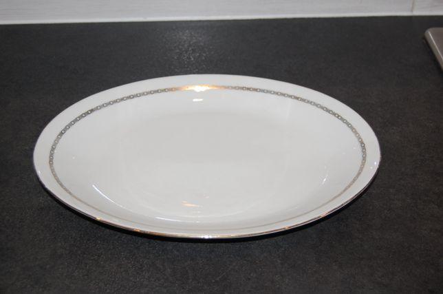 Porcelana Ćmielów - piękny, duży półmisek - 33 x 24 cm