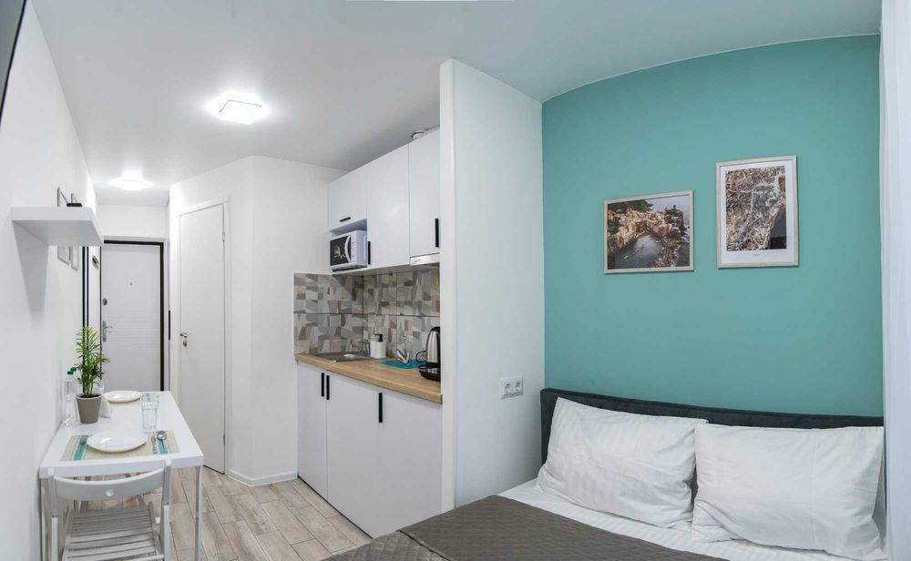 Посуточная аренда квартира студия метро Святошино-1