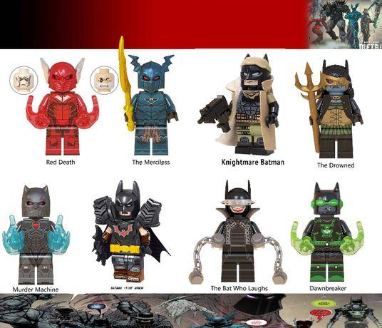 Bonecos / Minifiguras Super Heróis nº177 - Dc Comics -compativeis Lego