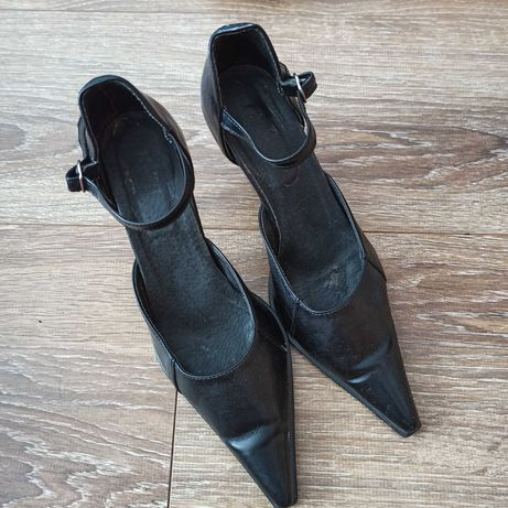 Buty obcasy szpilki czarne 37