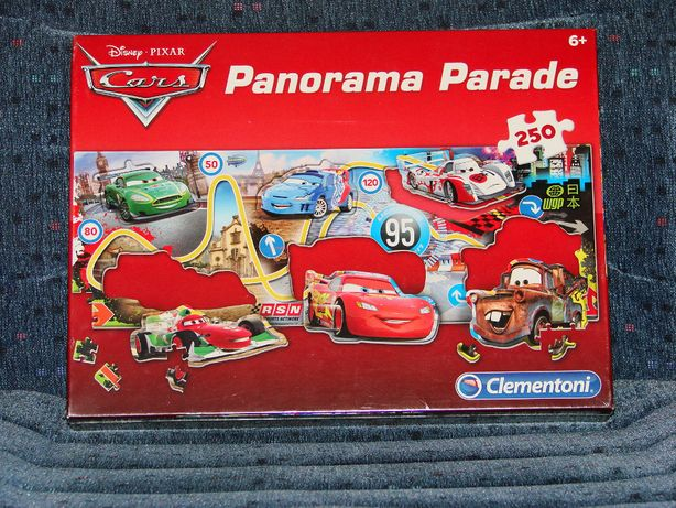 Puzzle Panorama Cars 6+ nowe w folii