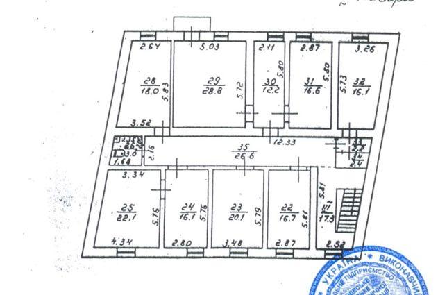 Аренда офис 8 кабинетов 200 кв м ул Садовая нежидой фонд