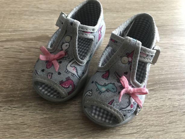 Befado roz. 19 buciki sandałki kapcie dla dziewczynki