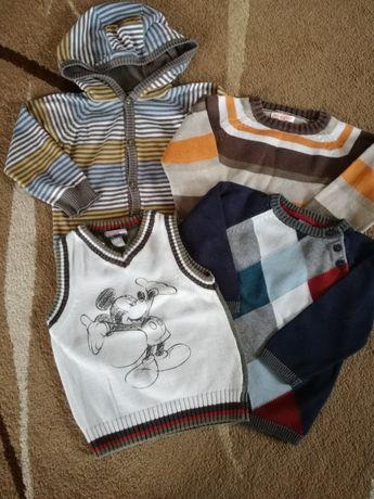 Sweterki, kamizelka h&m, reserved, bluzeoo 92, 98