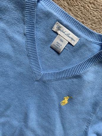 Nowy sweterek Ralph Lauren roz.12 M / 80
