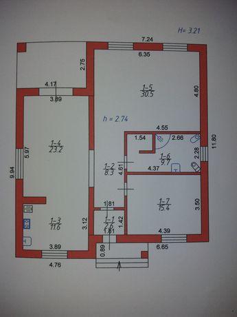 Обміняю будинок в с Боратин.На дві квартири в новобудові в м.Луцьку.