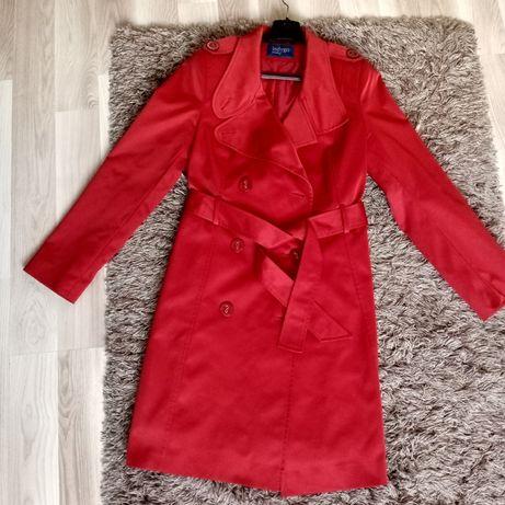 Płaszcz bardzo elegancki, wizytowy, czerwony* śliczny*