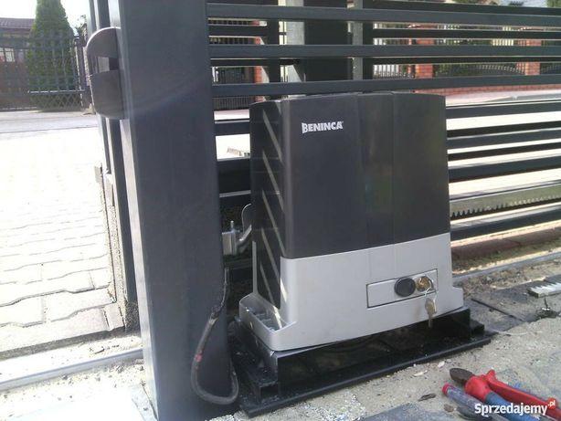 Automatyka bramy wjazdowe garażowe Montaż Serwis Nice Beninca Facc