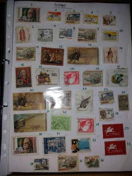Selos antigos para colecionadores
