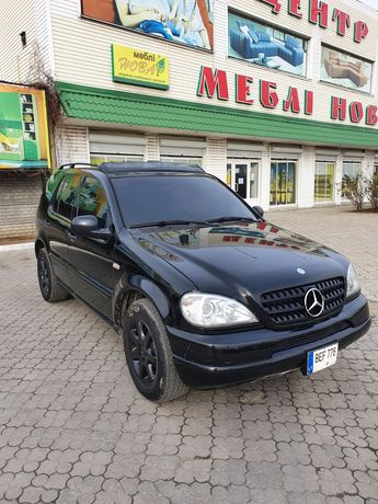 Mercedes Ml 430 amg газ