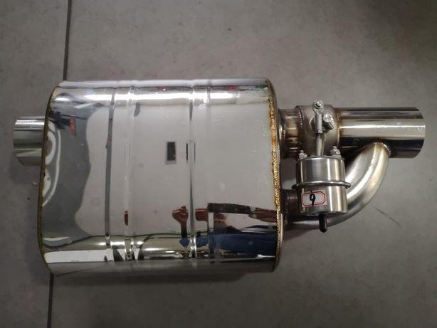 Panela de escape com válvula NOVA- valve bypass