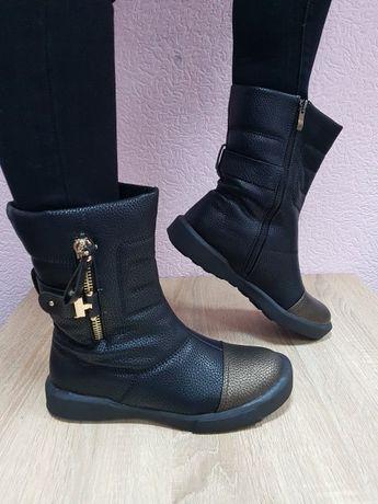 Зимние ботиночки на меху 38 размер