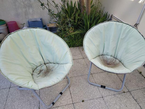 Vendo cadeiras de jardim