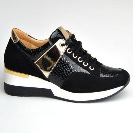 Butimoda Półbuty Sportowe Sneakersy R.36-40 Model Lucia Nowość