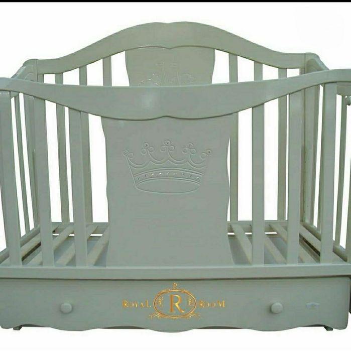 Кроватка, Ліжечко дитяче+(матрас-кокосовий,наматрасник) Черновцы - изображение 1