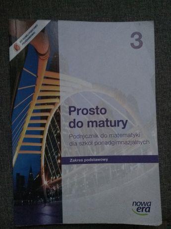 Podręcznik do matematyki Prosto do matury 1