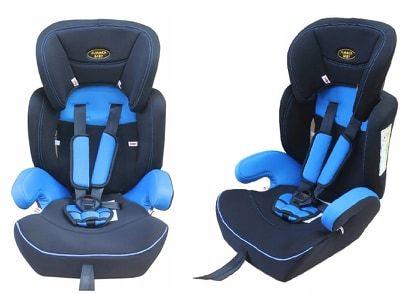 OKAZJA Fotelik samochodowy 9 - 36 kg Summer Baby CLASSIC w 3 kolorach