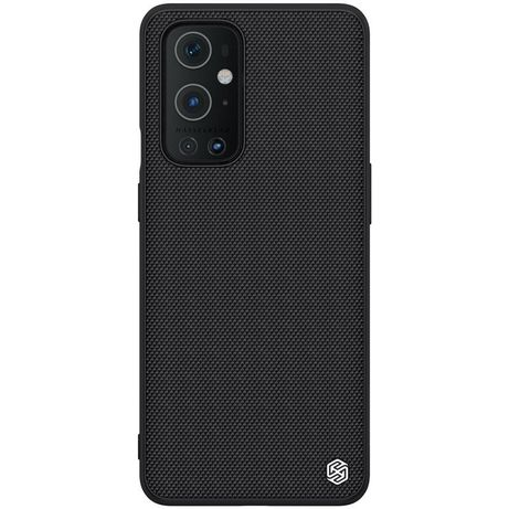 Capa Nillkin Textured Rugged Cover Gel Frame And Nylon On The Back Oneplus 9 Pro Preto