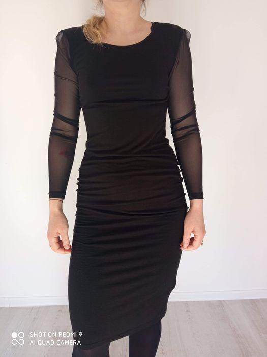 Sukienka z koronkowymi rekawami Chylice-Pólko - image 1
