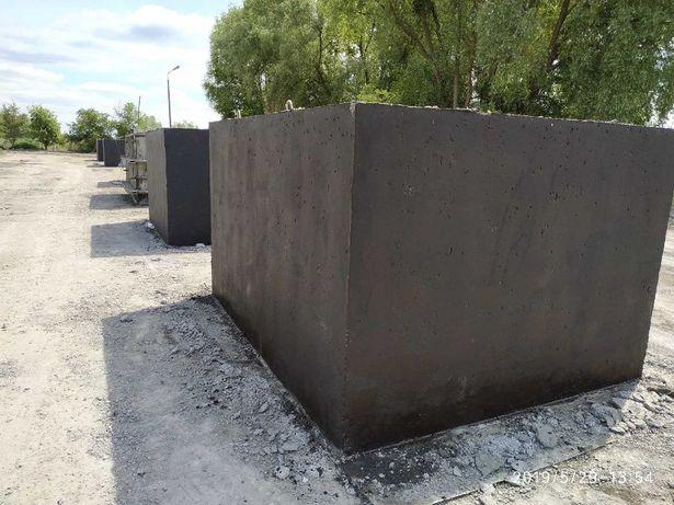Zbiornik na gnojówkę gnojowicę deszczówkę szamba betonowe 8m3 szambo