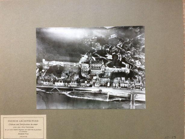 ANTYK Fotografia AMBOISE FRANCJA z lotu ptaka Lata 20. XX w. Oryginał!