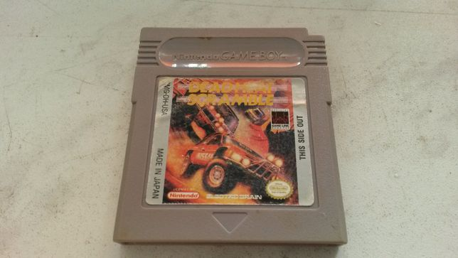 Dead Heat Scramble gra na game boy classic - zamiana