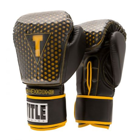 TITLE Boxing HEXICOMB Tech Bag Gloves