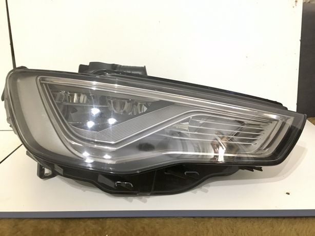 Фара правая Audi A3 8V0 full led дорестайл, 8V0941034 фара Audi A3 led