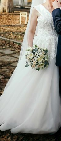 Весільна сукня 46 р.
