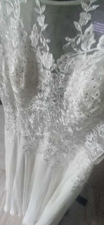 Suknia Slubna rozmiar 48