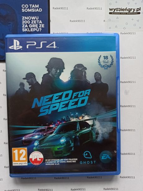Need for Speed PS4 PlayStation 4 PS5 NFS