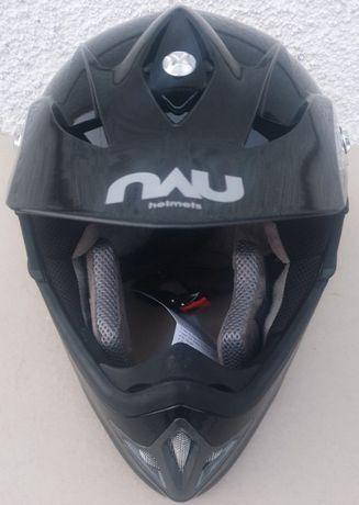 Capacete Motocross Nau N45 XT45