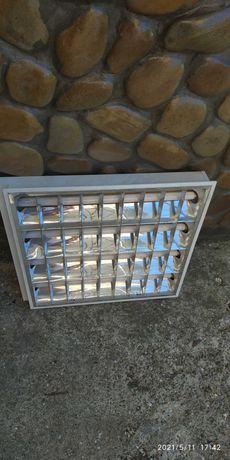 Рафтові світильники 18 Вт лампи під армстронг 4шт.