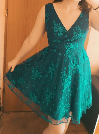Sukienka kwiaty orsay