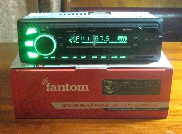 Автомагнитола Fantom FP-327 (новая, магазин)