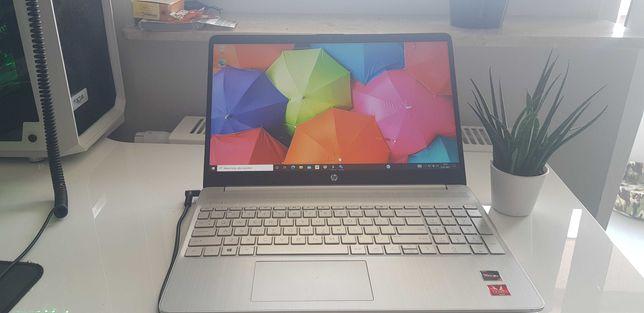 Laptop biurowy HP 15s QUAD Ryzen 7 3700U 8GB 512SSD