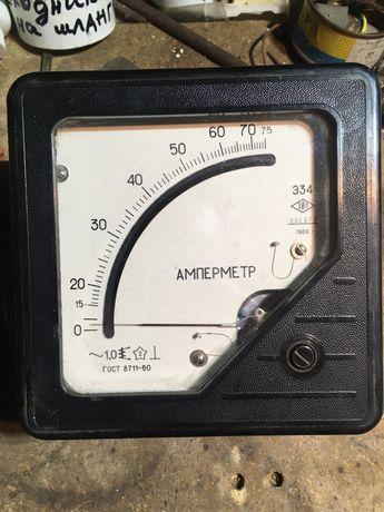 Амперметр щитовой Э34, 75А, 1966г.