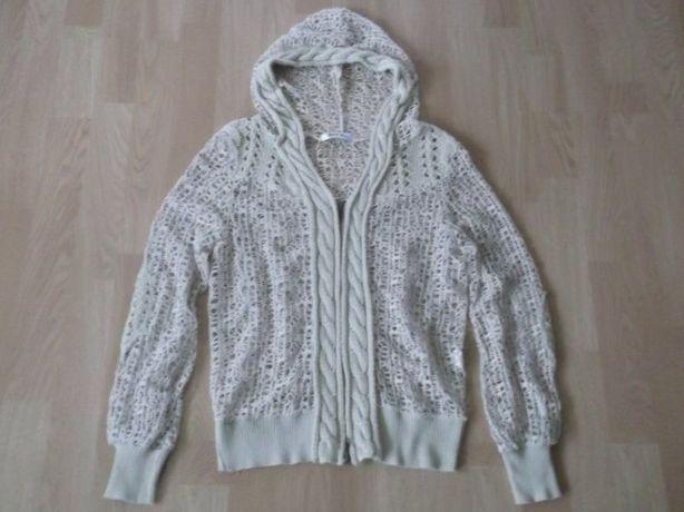 Śliczny sweterek ażurkowy__rozm. S