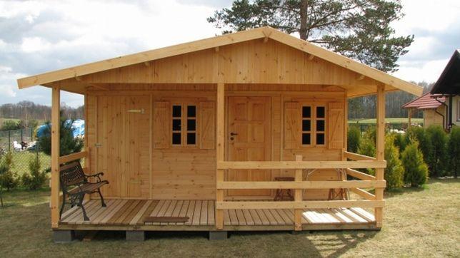 domek drewniany domki drewniane z drewna altanka letniskowy dom WARBIT