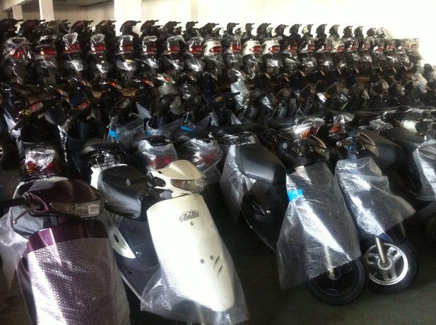 Продам мопеды Honda dio Yamaha Suzuki без пробега по Украине