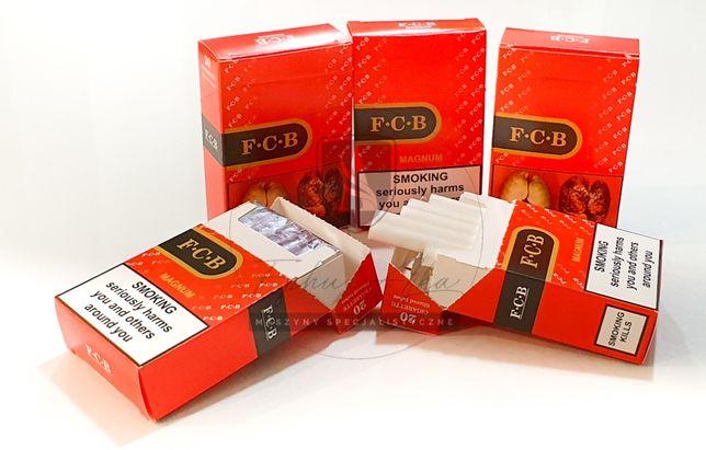 Paczki, opakowania, na papierosy, gilzy, sreberko, do papierosów