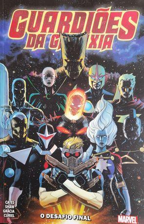 Livro Guardiões da galáxia de Marvel