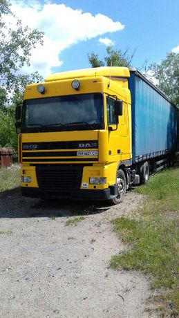 Продажа грузового тягача с прицепом